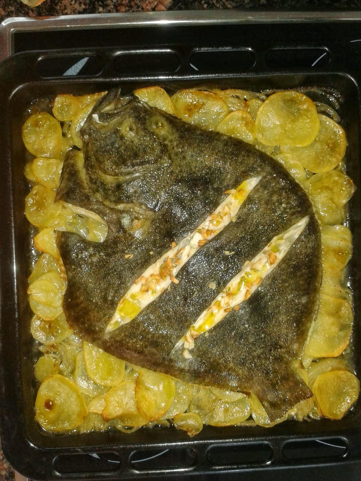 Bonito como cocinar rodaballo al horno im genes - Cocinar vieiras al horno ...